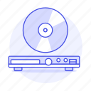 2, audio, cd, compact, disc, dvd, media, music, players icon