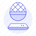 audio, egg, media, player, sound, speakers, system icon