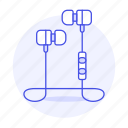 3, audio, ear, headphones, headsets, in, wireless icon
