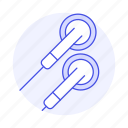 audio, ear, headphones, headsets, in icon