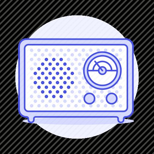 audio, circular, dial, fashioned, frecuency, old, radio, retro, vintage icon