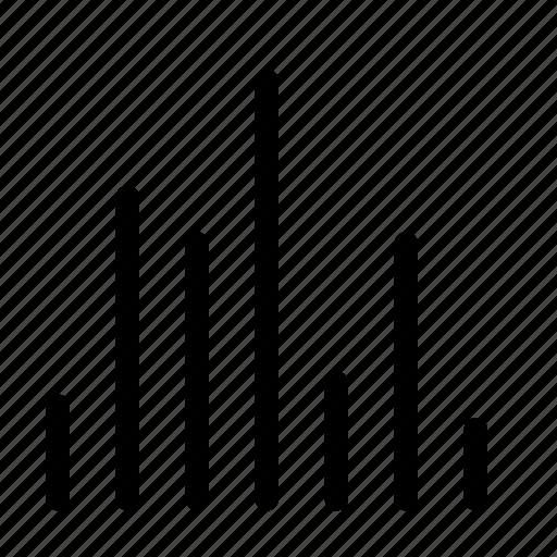 audio, eq, graph, multimedia icon