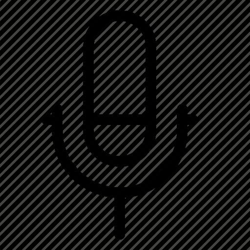 audio, mic, multimedia, music icon