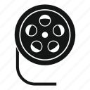 filmstrip, frames, movie, negative, reel, strip, video icon