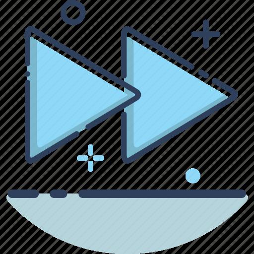 audio, forward, forward icon, multimedia, music, sound, video icon