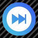 audio, fast, forward, media, multimedia, pointer, sound
