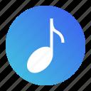 audio, media, multimedia, music, note, sound
