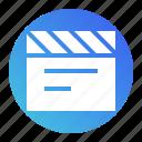 entertainment, media, movie, multimedia, video icon