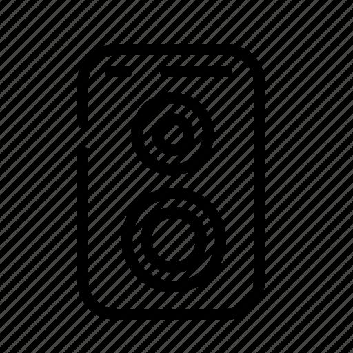 audio, device, electronic, music, sound, speaker icon
