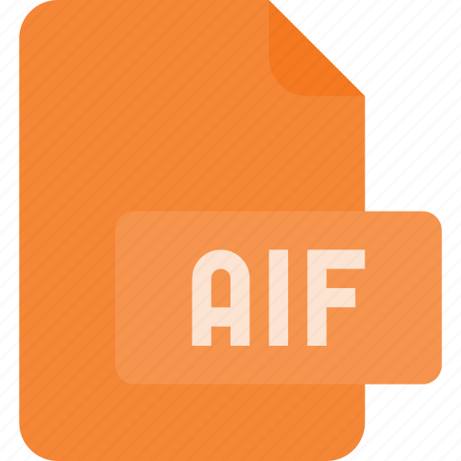 aif, audio, file, music, sound icon