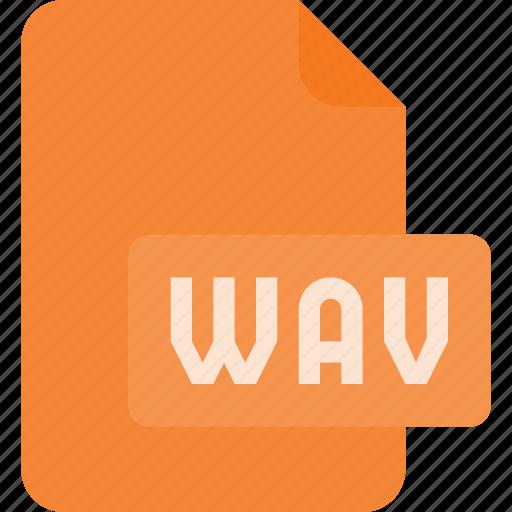 audio, file, music, sound, wav icon
