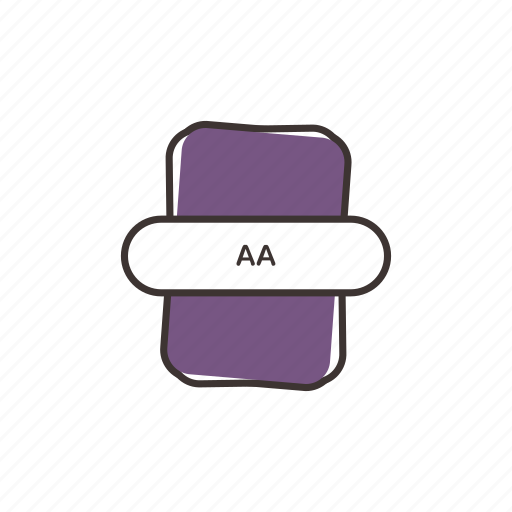 aa, audio file, file extension, multimedia icon