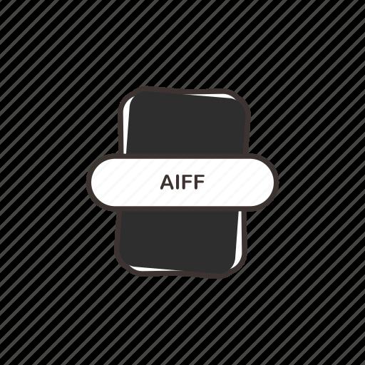 aiff, audio file, file extension, multimedia icon