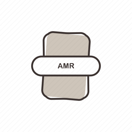 amr, audio file, file extension, multimedia icon