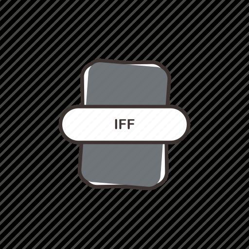 audio file, file extension, iff, multimedia icon
