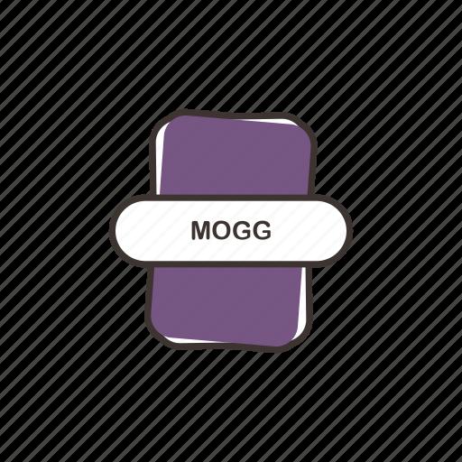 audio file, file extension, mogg, multimedia icon