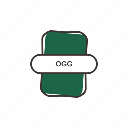 audio file, file extension, multimedia, ogg icon