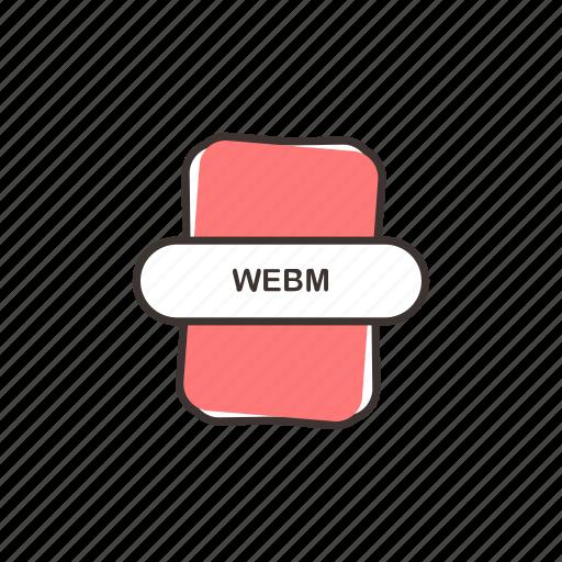 audio file, file extension, multimedia, webm icon