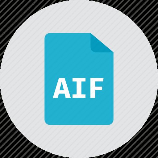 aif, file icon
