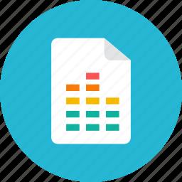 equalizer, file icon