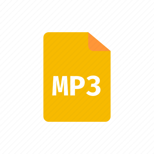 file, mp3 icon