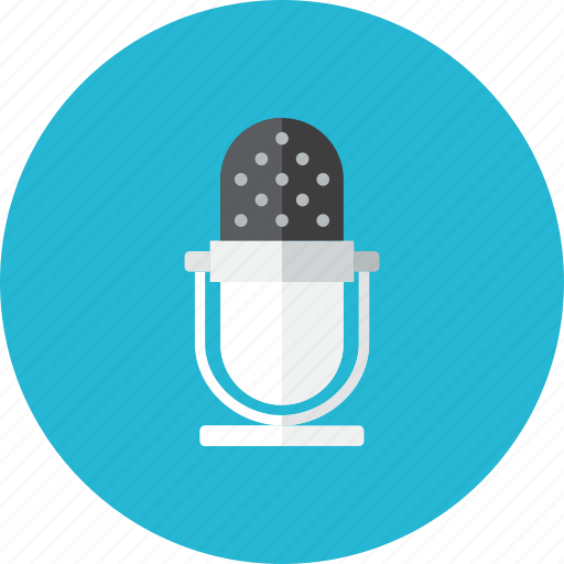 3, microphone icon