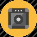 3, speaker icon