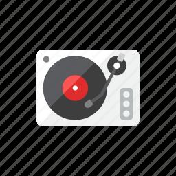 player, record icon