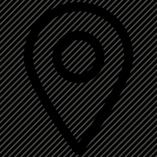 arrow, location icon icon