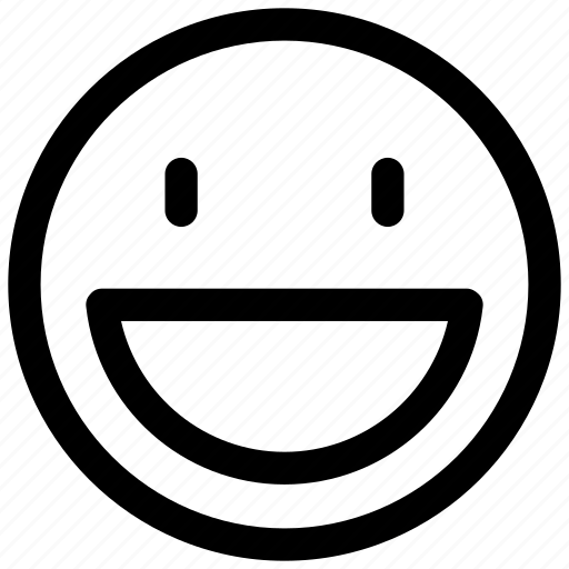 emoji, emotion, feeling, smile icon icon