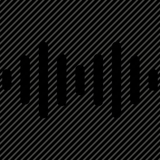 audio, multimedia, music, sound, soundwave, wave, waves icon icon