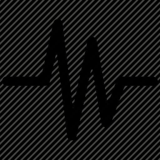 music, sound, soundwave, wave icon icon