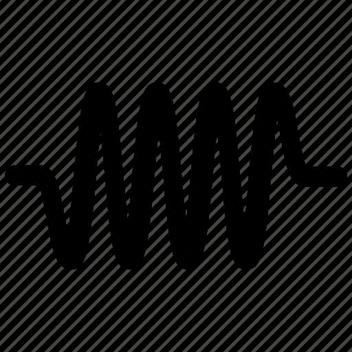 listen, music, sound, wave icon icon