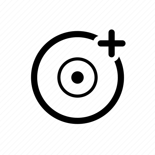 add disc icon