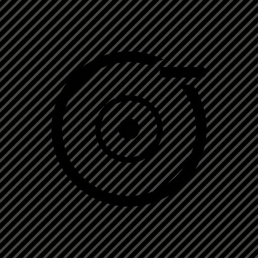 remove disc icon