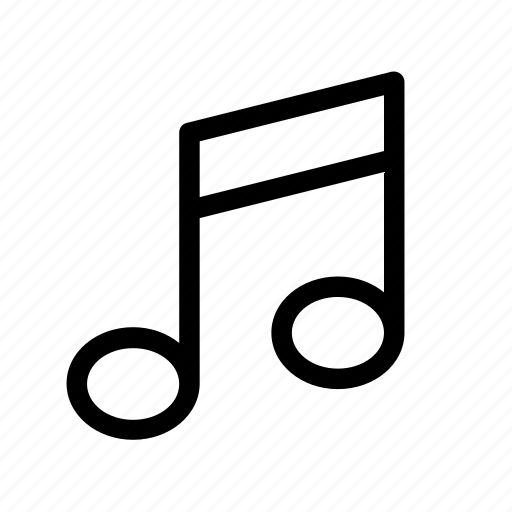 melody, music, note, song, video icon