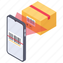 barcode scanning, product code, qr code, scanning code, shopping code, upc icon
