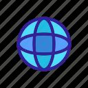 reality, sphere, virtual, vr icon