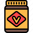 australia, foof, kraft, vegemite icon