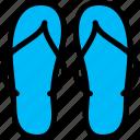 australia, flip, flops, sandals icon