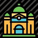 australia, building, heritage, melbourne icon
