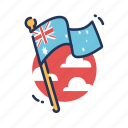 australia, flag, country