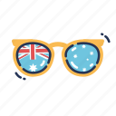 aussie, australia, australia day, australian, cool, shades, sunglasses icon