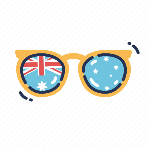 aussie, australia, australia day, australian, cool, shades, sunglasses icon