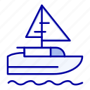 boat, country, indian, ship icon
