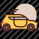 cab, transport, travel icon