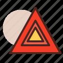 hazard, light, transport, travel icon