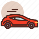 car, transport, travel, wv icon