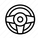 steering, transport, travel, wheel2 icon
