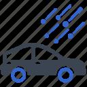 car, damage, hail, auto, vehicle icon